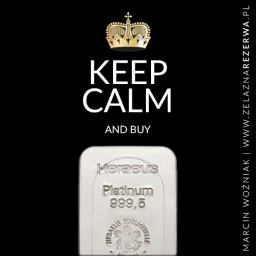 Keep calm 21-12-19 - Platyna