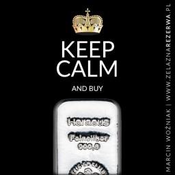 Keep calm 21-12-19 - Srebro