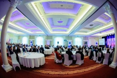 Biznes Ludzie Pieniądze na konferencji w Hotel Windsor